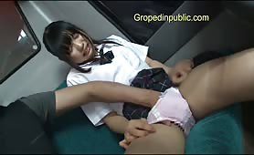 Asian miss meteo loves groped hot