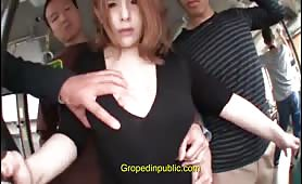 Groped in the bus