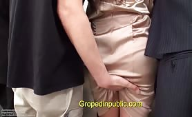 Groped masturbation