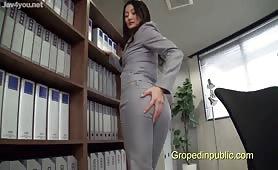 Secretary Groped in office