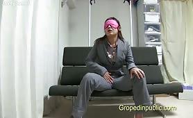 Blindfolded Groped by a stranger