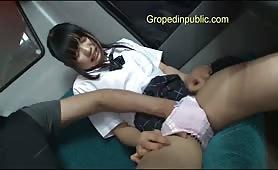 Asian miss meteo loves groped hot