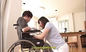 Groped in handicap