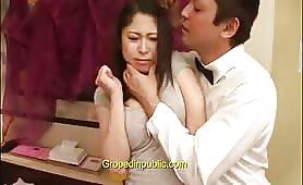 groped in gangbang