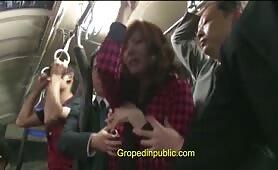 Groped in bus